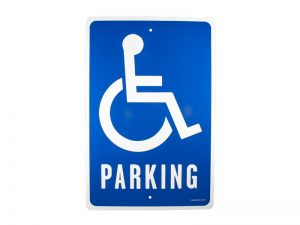 PARKING SIGN HANDICAP