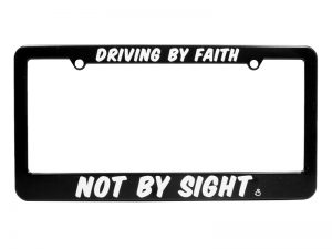 "TAG FRAME – ""DRIVING BY FAITH"""