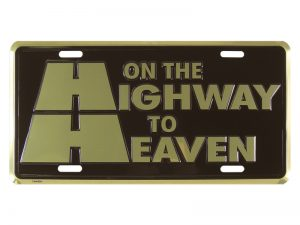 AUTOTAG DELUXE GOLD HIGHWAY TO HEAVEN