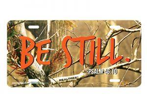 AUTOTAG CAMO BE STILL PSALM 46:10