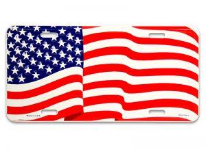 AUTOTAG AMERICAN FLAG