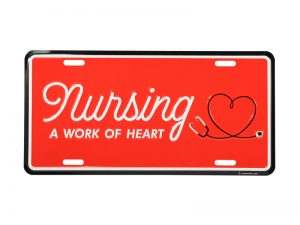 AUTOTAG NURSING A WORK OF HEART