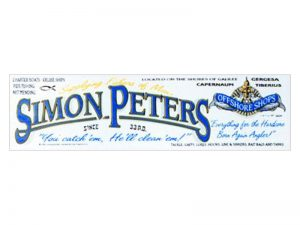 BUMPER STICKER SIMON PETERS – PACK OF 6
