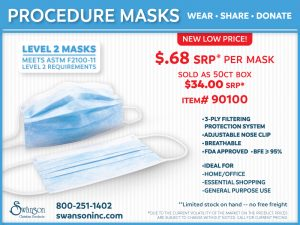 PROCEDURE MASK 50 CT