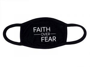 FACE MASK CLOTH FAITH OVER FEAR